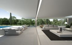 Gallardo Llopis Arquitectos - Casa en un campo de golf