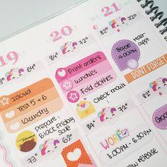 Simple with all my fav colours #erincondren #erincondrenlifeplanner #eclp #weloveec #plannercommunity #plannerlove #plannernerd #plannergirl #plannergoodies #planneraddict #happymail #plannerstickers #stickerswap #stickeraddict #sugarpaperbear #kikkik #kikkikloves #stickershop #planwithbelinda by sugarpaperbear