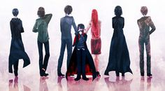 This picture almost made me cry! Harry Potter. James Potter. Lily Evans / Lily Potter. Severus Snape. Sirius Black. Regulus Black. Remus Lupin.