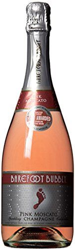 Barefoot Bubbly California Pink Moscato Sparkling Wine 750mL >>> You can find out more details at the link of the image.