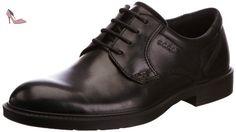 Ecco Ecco Atlanta, Derby Homme - Noir (black21001), 47 EU - Chaussures ecco (*Partner-Link)