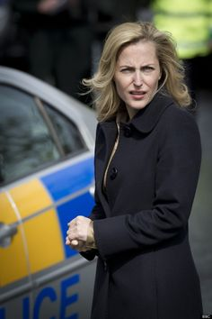 Gillian Anderson in 'The Fall', 2013 - Set in Belfast, Ireland.