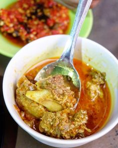 Indonesian Food, Indonesian Recipes, Padang, Hot Dog, Allrecipes, Salsa, Seafood, Curry, Food And Drink