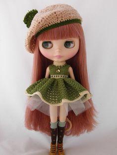 crochet dress ♡