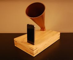 """Acoustic amplifiers are pretty cool, but my favorite style is the Gramophone ... they just look cool ... especially when real metal horns are used. That being said, have you seen the asking prices for these creations? I thought the $185 model on Etsy was painful ... until I saw another for $495 ... OUCH!I briefly looked online for metal horns, but those were starting at $50. I then tried to source a horn from a friend, but he rescinded permission to """"borrow"""" it once he learned of m..."""