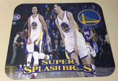 Golden State Warriors Splash Bros NBA Anti Slip Gamer Mouse Pad Phat Graphix | eBay