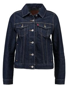 Salsa Providence Biker denim jacket ($170) ❤ liked on Polyvore featuring  outerwear, jackets, denim dark wash, women, blue jean jacket, denim jacket…