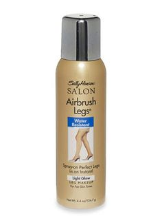 Sally Hansen Airbrush Legs Leg Makeup ($10) revives legs and doesn't transfer onto clothes.