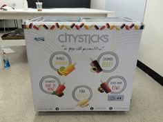 Refrigerator wrap City Sticks - Car wraps NYC #vinyl #wrap #car #decal #deign #brand #nycitywraps #nyc