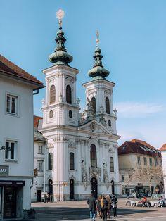 Sightseeing in Graz Klagenfurt, Innsbruck, Hotel Gast, Hallstatt, Graz Austria, San Francisco Ferry, Notre Dame, World, Building