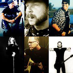 Metallica que hermosura James por Dios ❣