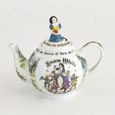 More+Collectible+Teapots+|+Snow+White+Collectible+Teapot+by+Cardew