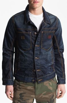 G-Star Raw 'Ranch' Denim Jacket available at #Nordstrom
