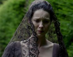 "Claire Fraser (Caitriona Balfe) in Episode 207 ""Faith"" of Outlander Season Two on Starz via https://outlander-online.com/"