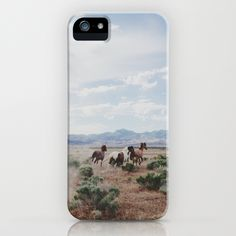 Running Horses iPhone Case