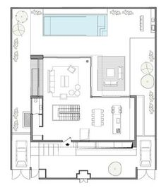 CH House / Shachar - Rozenfeld Architects, Floor Plan-G