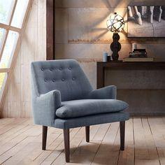 "Madison Park Taylor Chair - Blue - 28.5W x 26.75D x 31.5H"" Madison Park http://www.amazon.com/dp/B00TB3DZD6/ref=cm_sw_r_pi_dp_-Q4uvb1W93H6B"