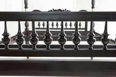 Anglo-Indian Ebony Queen Four Poster Bed   From a unique collection of antique and modern beds at https://www.1stdibs.com/furniture/more-furniture-collectibles/beds/