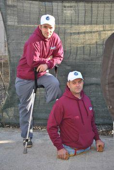 Legless and one-legged duo