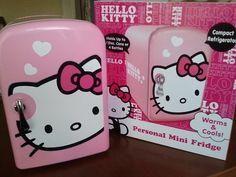Hello Kitty mini fridge!!! <3 ;)