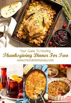 hosting a huge Thanksgiving this year? You're in luck because here is your ultimate guide to Thanksgiving Dinner For Two! Menu includes recipes for two and small batch recipes of your favorite Thanksgiving dishes. Thanksgiving Dinner For Two, Dinner For 2, Thanksgiving Recipes, Holiday Recipes, Dinner Ideas, Hosting Thanksgiving, Dinner Table, Christmas Dinner For Two, Thanksgiving Outfit