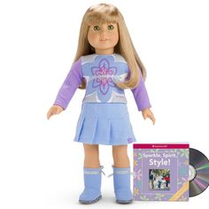 I Like Your Style Outfit-7th meet outfit 2006 I got stuck with this outfit for my first doll in 2006. CD only had one song and a song along version on it. Also my doll had straight brown hair with bangs, brown eyes, and light skin. Too bad I have curly hair and no bangs. Plus the eyes were darker than mine. I love Kit's bright deep blue eyes and Felicity's green eyes. Too bad American Girl stopped making Pleasant Company quality products. Especially since they're changing the historical…