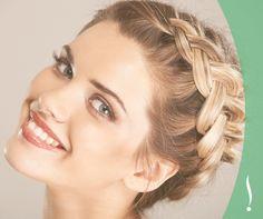 ¡Demuestra tu girl power en la fiesta de graduación con este peinado! Sigue la flecha para conocer las instrucciones -> http://bit.ly/11H1ogv