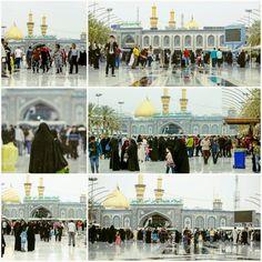 [16 Jammad Al-Akhir 1437]  Holy Rain in Holy Karbala