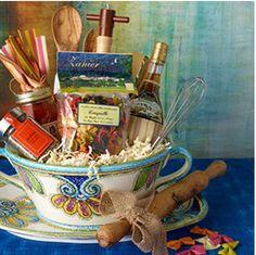 Gorgeous DIY gift basket. #TheGifter