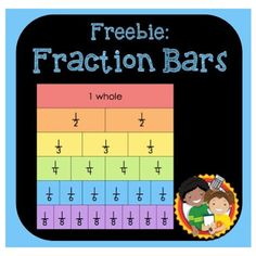JustAddCoffee- The Homeschool Coupon Mom : Free Printable- Fraction Bars