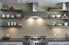 chinky kitchen shelves - Google Search