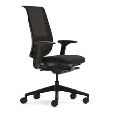 Home Decorators Collection | Steelcase Black Mesh Back Reply Chair with Black Fabric Seat ** Find out more about the great product at the image link. Note:It is Affiliate Link to Amazon.