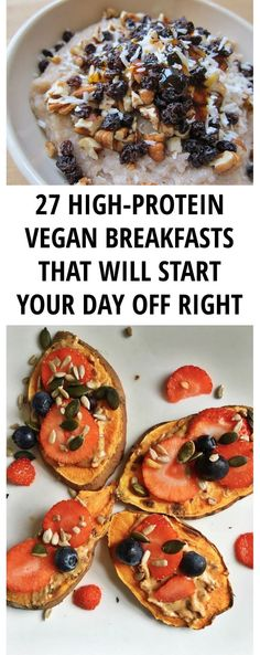 Vegan diets always get so much praise due to their benefits towards our health and the environment. Regardless of that, you will always run into people that are still concerned if such diets can provide all necessary nutrients. Make these vegan breakfasts to get a healthy dose of protein.