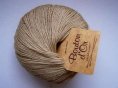 wool and linen - PERENNE navajo - knitting yarn from Bouton D'Or Knitting Yarn, Navajo, Bean Bag Chair, Buy And Sell, Wool, Sweater, Sleeve, Handmade, Stuff To Buy
