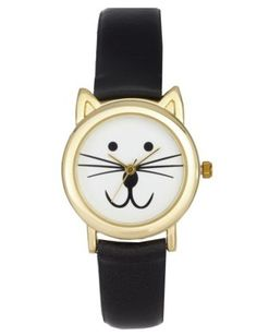 Teenybopper Gift Guide: ASOS CAT EARS WATCH #gift watches, #gift ideas, #unique gifts