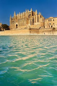 The Cathedral of Santa Maria of Palma also known as La Seu is a Gothic Roman Catholic cathedral in Palma, Majorca, Spain built on the site of a pre-existing Arab mosque. Photo: plus.google.com/explore