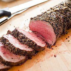 Pepper-Crusted Beef Tenderloin Roast - America's Test Kitchen