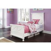 Found it at Wayfair - Kaslyn Panel Customizable Bedroom Set
