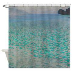 Gustav Klimt - Attersee Shower Curtain on CafePress.com