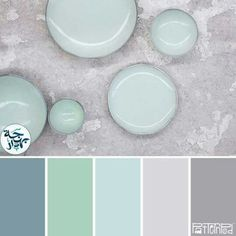 These are colors we're considering for the hall bath walls.