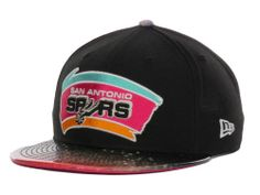 67e8d190ac3be San Antonio Spurs New Era NBA Hardwood Classics Glow in the Dark Splatter  9FIFTY Snapback Cap