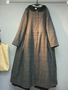 Modest Long Dresses, Linen Dresses, Simple Dresses, Lolita Fashion, Hijab Fashion, Boho Fashion, Fashion Dresses, Vintage Dresses, Vintage Outfits
