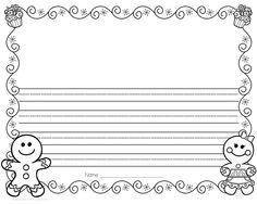 Lined Page Template Image Result For Blackline Polaranimals Kids  Science  Pinterest .