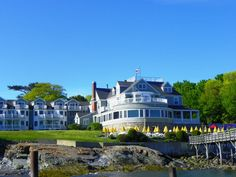 Bar Harbor Inn, Bar Harbor, ME Ate lobster, hiked through Arcadia National Forest, gathered sea glass on the shore
