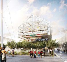 SOA Architectes Paris > Projets > Pavillon de France Exposition Universelle MILAN 2015