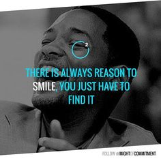 What's Your reason to smile? Follow @mightofcommitment for #motivational #inspirational #quotes