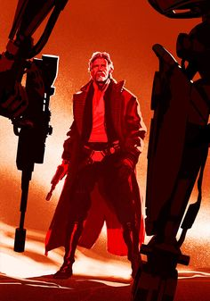 Han Solo - Star Wars: The Force Awakens - concept art