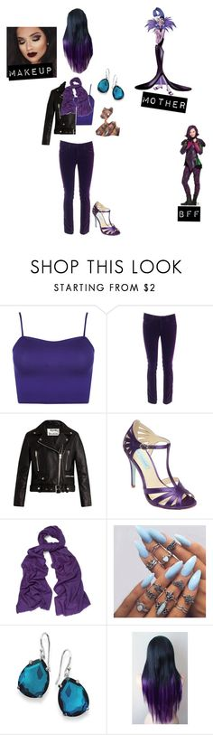 """Yasmine- Daughter of Yzma (OC; DO NOT COPY) Descendants"" by batgirl-at-the-disco3 ❤ liked on Polyvore featuring WearAll, Victoria Beckham, Acne Studios, Betsey Johnson, WtR, Ippolita, Disney, disney, OC and yzma"