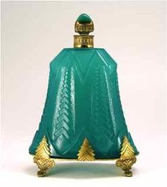 c.1920's Art Deco Austrian Perfume Bottle