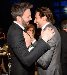 The likely lads: Matt Damon will probably be jealous when he finds out Ben has a new bromance